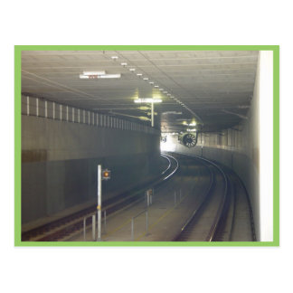 The Light At The End Of The Tunnel At Subiaco In W Post Cards
