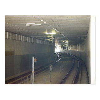 The Light At The End Of The Tunnel At Subiaco In W Post Card