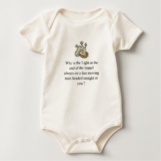 The light at the end of the tunnel baby bodysuit