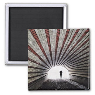The Light At The End Of The Tunnel Magnet