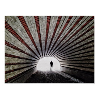 The Light At The End Of The Tunnel Poster