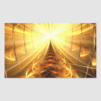 The Light at the End of the Tunnel Rectangular Sticker