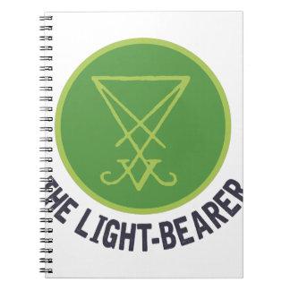 The Light-Bearer Spiral Note Books