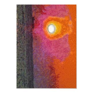 The light beckons you card