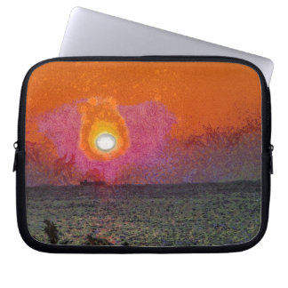 The light beckons you laptop computer sleeve