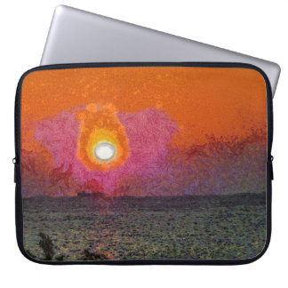 The light beckons you laptop sleeve
