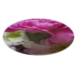 The Light Fantastic pink carnation b Cutting Board