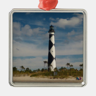 The Light House Metal Ornament