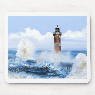 THE LIGHT HOUSE TOWER FINISHED. MOUSE PAD