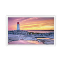 The Light Keeper | Peggy'S Cove Acrylic Tray