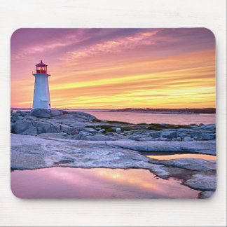 The Light Keeper | Peggy'S Cove Mouse Pad