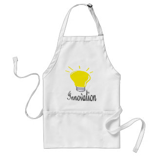 the light of innovation adult apron