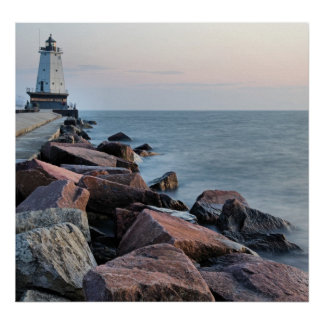 The Light of Ludington Poster