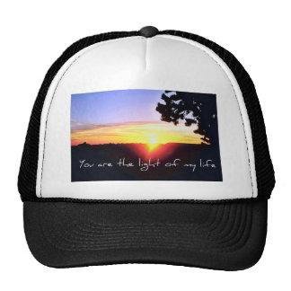 The light of my life trucker hat