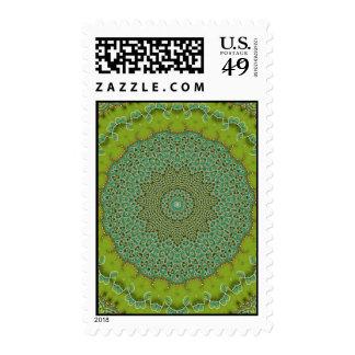 The Light of Star, Mandala Art Stamp