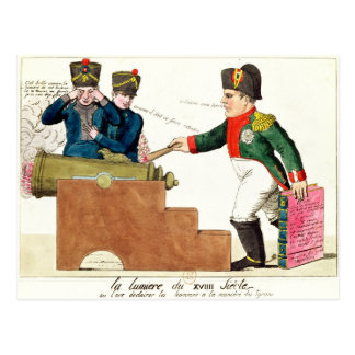 The Light of the 19th Century, 1815 Post Card