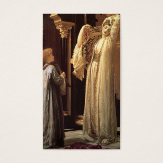 The Light of the Harem - Frederic Leighton Business Card