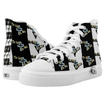 The Light the Way Christian Hi-Top Printed Shoes
