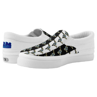 The Light the Way Christian Slip Ons Printed Shoes