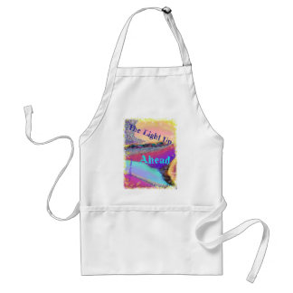 the light up ahead adult apron