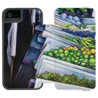 The Lighter Side of Lavender Street, Singapore Wallet Case For iPhone SE/5/5s