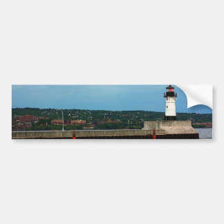 The Lighthouse and the North Pier Bumper Sticker
