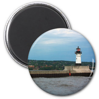The Lighthouse and the North Pier Magnet