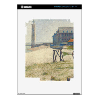 The Lighthouse at Honfleur, 1886 (oil on canvas) iPad 3 Skin