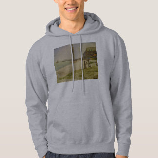The Lighthouse at Honfleur by Georges Seurat Hoodie