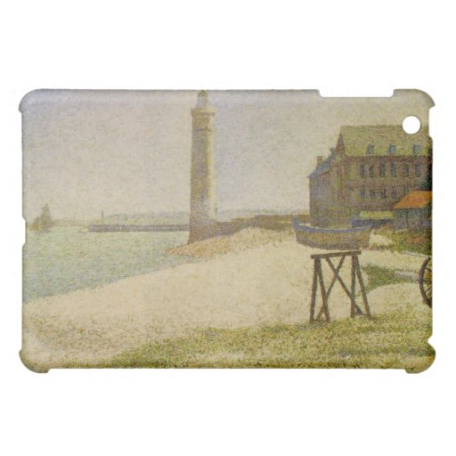 The Lighthouse at Honfleur by Georges Seurat iPad Mini Case