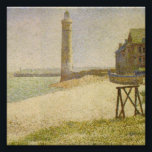 "The Lighthouse at Honfleur by Georges Seurat Photo Print<br><div class=""desc"">1886 