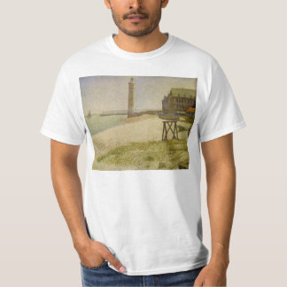 The Lighthouse at Honfleur by Georges Seurat T-Shirt