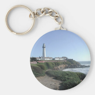 The Lighthouse Basic Round Button Keychain