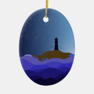 The Lighthouse Ceramic Ornament