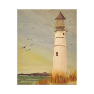 The Lighthouse Gallery Wrapped Canvas