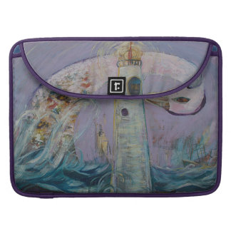 The Lighthouse Keeper and the Swan #1 MacBook Pro Sleeve