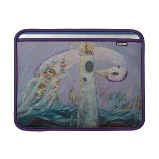 The Lighthouse Keeper and the Swan #1 MacBook Sleeve
