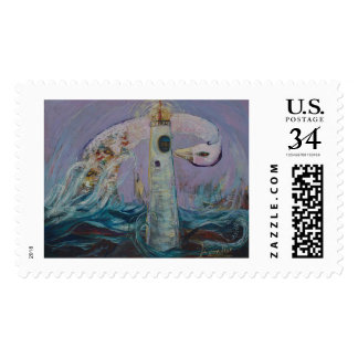 The Lighthouse Keeper and the Swan #1 Postage