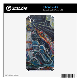 The Lighthouse Keeper and the Swan #2 iPhone 4S Skin