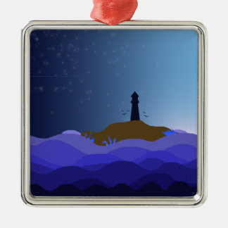 The Lighthouse Metal Ornament