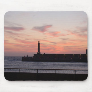 The Lighthouse Mouse Matt Mouse Pad