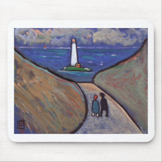 THE LIGHTHOUSE MOUSE PAD