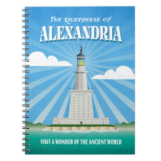 The Lighthouse of Alexandria Notebook