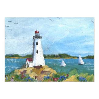 The Lighthouse Path Card