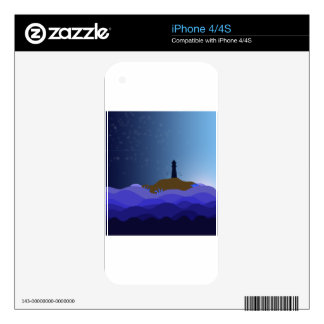 The Lighthouse Skin For iPhone 4S