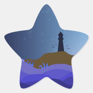 The Lighthouse Star Sticker