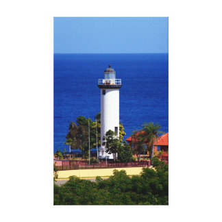 The Lighthouse Stretched Canvas Prints
