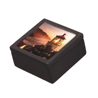 The Lighthouse View Jewelry Box