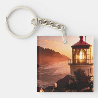 The Lighthouse View Keychain