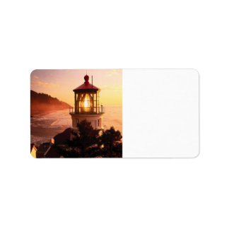 The Lighthouse View Label